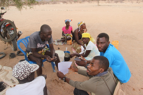 Consultations with Angolan Communities