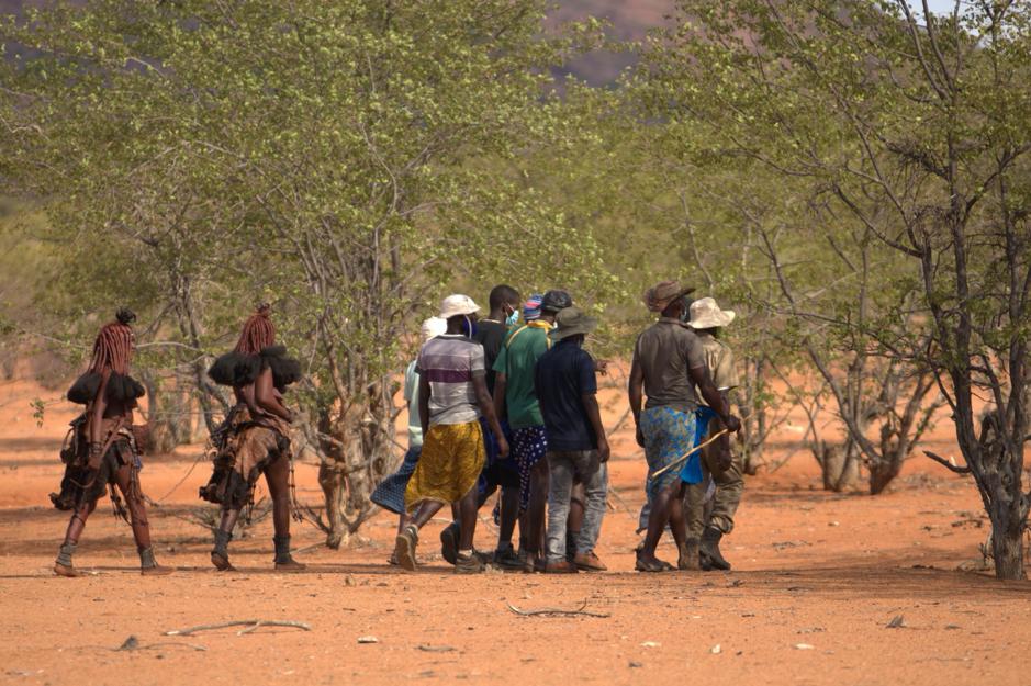 Ethnobotanical walk during the Knowledge Fair