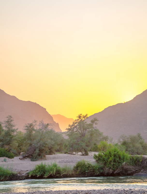 Photo Credit: Morgan Hauptfleisch  Caption: Kunene Sunrise