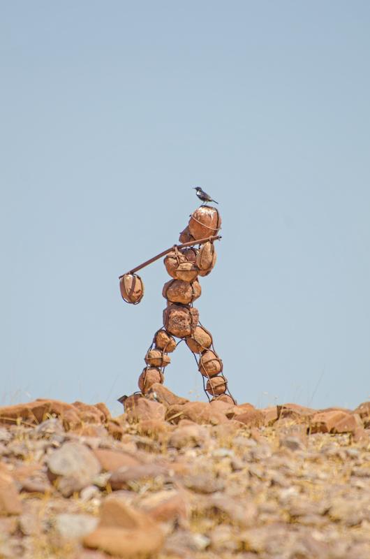 Photo Credit: Morgan Hauptfleisch  Caption: Stone Man