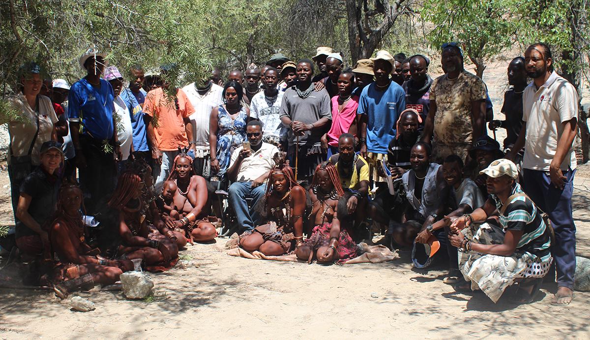 SCIONA team in Epupa